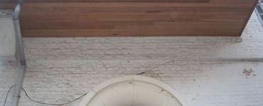 Bekleden van dakgoten en oversteken